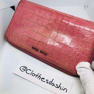Miu Miu large wallet